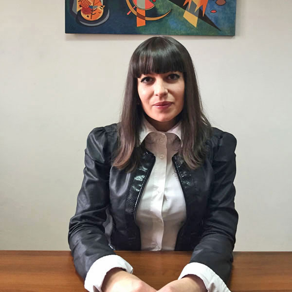 Olya Radova Administrative Secretary colour portrait